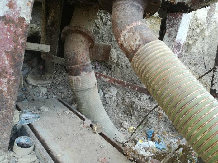 Broyeur malaxeur industriel d'origine Italie Avec Pompe