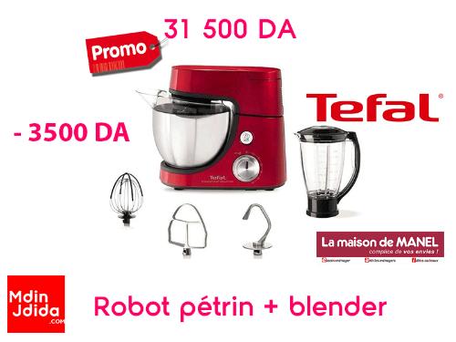 Robot pétrin + blender TEFAL