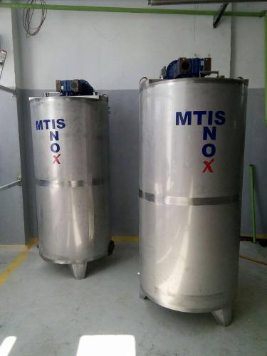 fabrication et montage des cuve inox