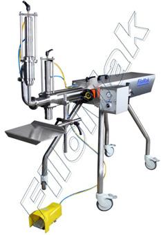 Machine de remplissage semi-automatique à tête unique