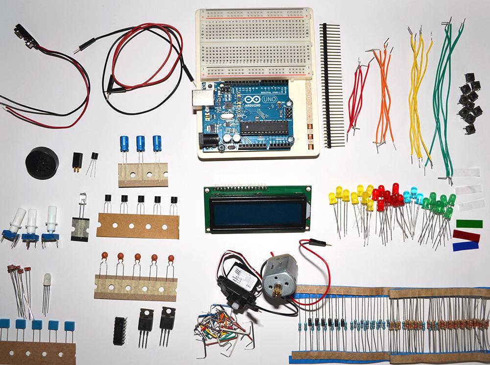Cherche kits, modules et composants électroniques.f