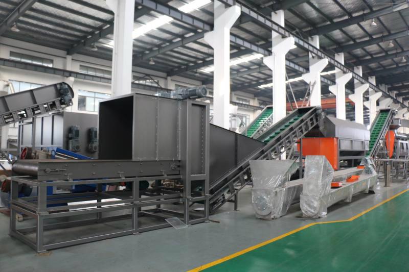 Lignes de recyclage Rolbatch pour PE rigide, PP