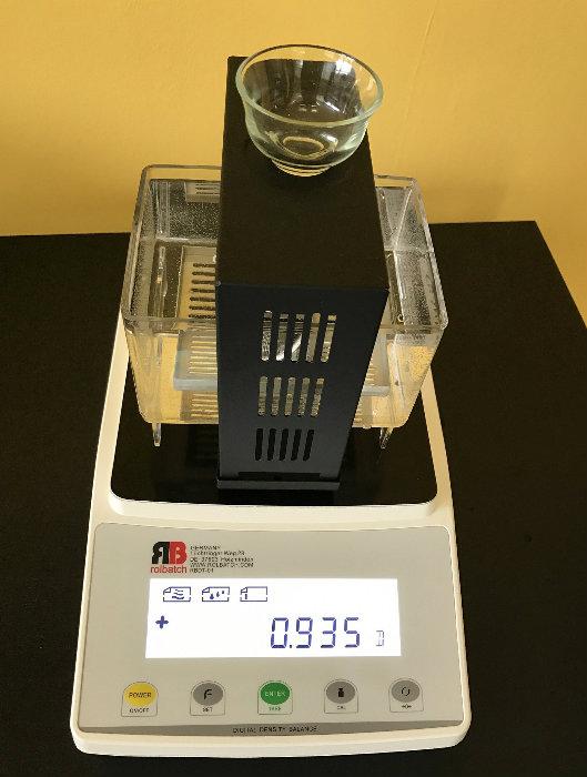 Densitomètre pour tester les plastiques et les fluides - Rolbatch GmbH