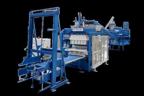 Machine à bloc fixe ECOBLOC (Portugal)