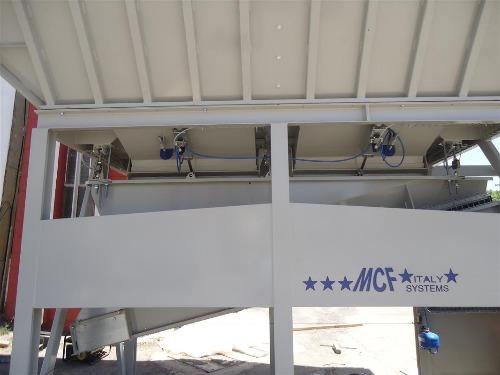 Centrale à béton semi-mobile de nouvelle génération VENUS (MCF ITALIE)