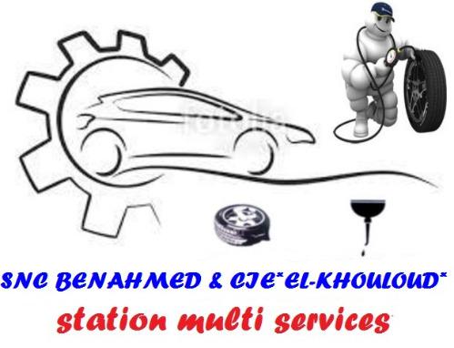 SNC BENAHMED & CIE *STATION MULTI SERVICES*