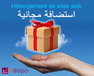 Hébergement gratuite de sites web