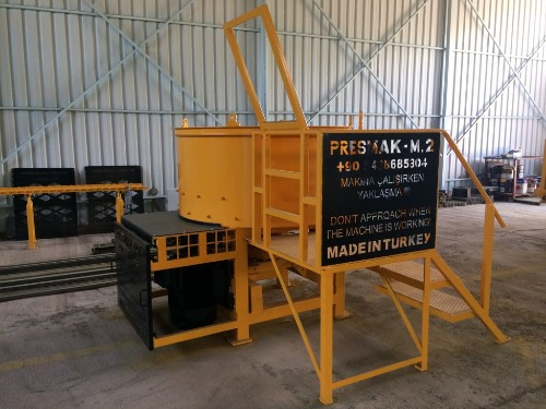 Block Making Machine Made in Turkey
