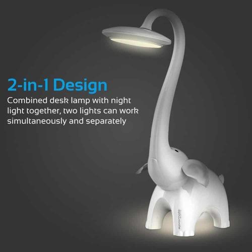 Promate Snorky Lampe à LED Touch Control Pour Enfants Et Nuit