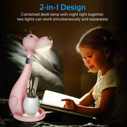 Promate Goofy Lampe à LED Touch Control pour enfants.