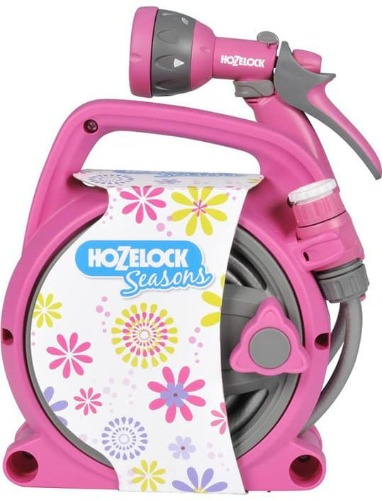 hozelock Dévidoir Pico Seasons 24256720 rose