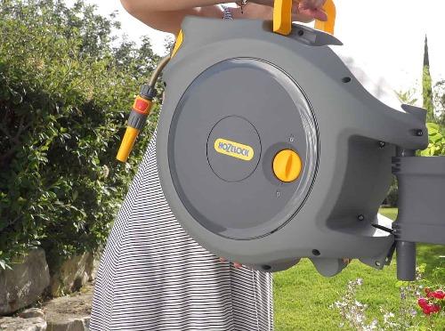 Dévidoir Auto Reel avec tuyau de 20m Hozelock 2401