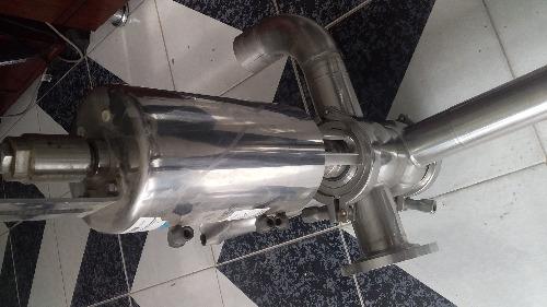 vanne papillon clamp 3 vois pneumatique 316L  DN51   inox