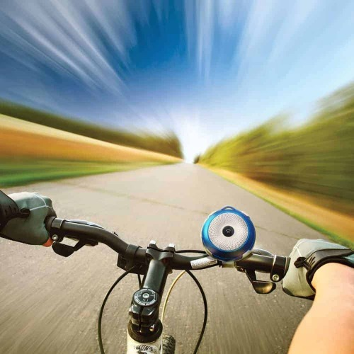 Promate Mini Haut Parleur Bluetooth Rechargeable Avec Support de montage Vélo – Bikerock
