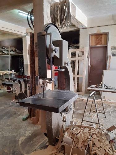scie a ruban  +  presse  +  15 fers