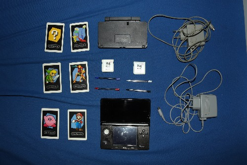 Nintendo 3DS + Memoire avec jeux