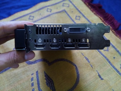 ASUS Dual series Radeon RX 580 OC edition 4GB GDDR5