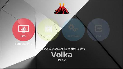 Abonnement VOLKA Pro2 IPTV ( plus de 1300 chaines)