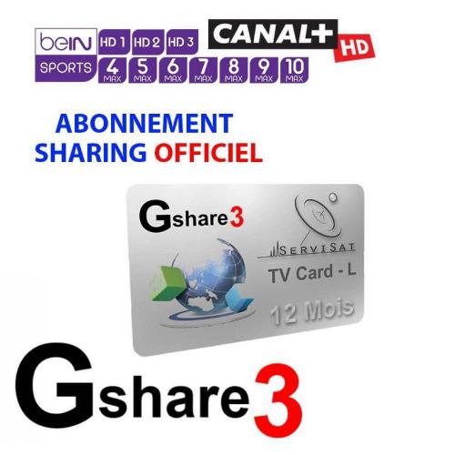 Rechargement Abonnement  Gshare et Apollo IPTV : Géant , StarSat , Pinacle , Tiger