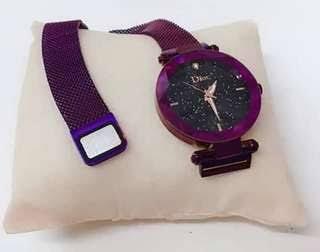 Women Magnetic Watch - ساعة مغناطيسية للنساء