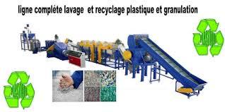 Ligne de recyclage Pneu et Plastique