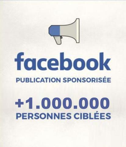 Publicité sponsoring sur facebook