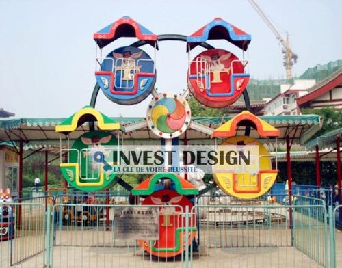 Fournisseur d'équipement de jeux pour parc d'attraction