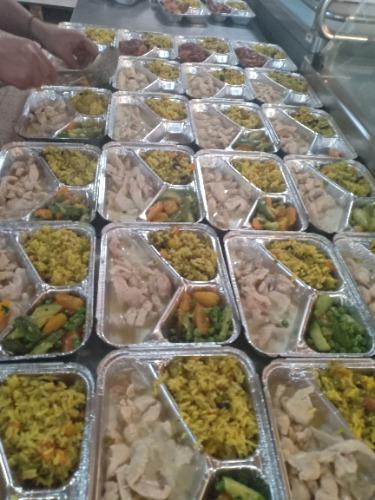 Livraison des coffrets repas