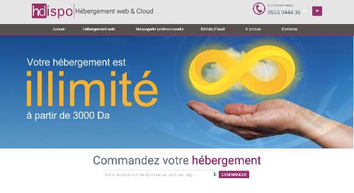 Hébergement de sites Web, cloud et Messagerie à haute disponibilité