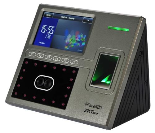 Pointeuse zkteco uFace800 multi-biométrique pour la gestion de l'assistance et le contrôle d'accès