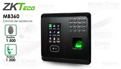 Pointeuse biométrique MB360 zkteco à reconnaissance faciale et empreinte digitale