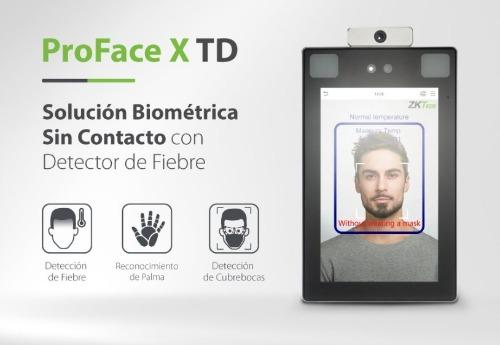 ProFace X-[TD] zkteco reconnaissance de visage, forme de main et détection de température