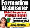 Formation Webmaster - Web Entrepreneur Professionnel