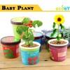 Ecoey Mini Bébé Plantes Pot avec plante