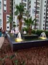 conception et realisation de fontaine , jet d'eau et cascade